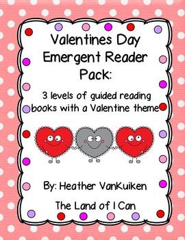 Valentines Day Emergent Reader Pack