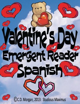 Valentine's Day - Emergent Reader. Spanish Version.