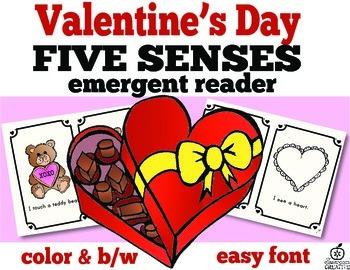 Valentine's Day Emergent Readers Bundle