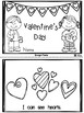 Valentine's Day Emergent Readers with Writing Paper {Kindergarten}