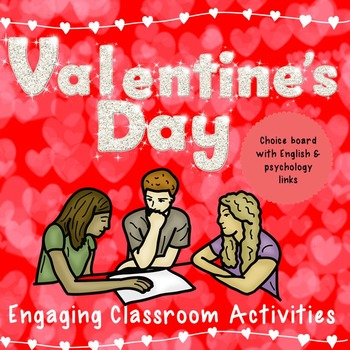 Valentine's Day English and Psychology Activities