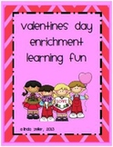 Valentines Day Enrichment For Early Finishers
