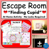 Valentines Day Escape Room for Home - All Materials Includ