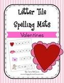 Valentine's Day Letter Tiles Spelling Mat