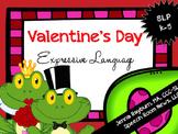 Valentine's Day Expressive Language Packet