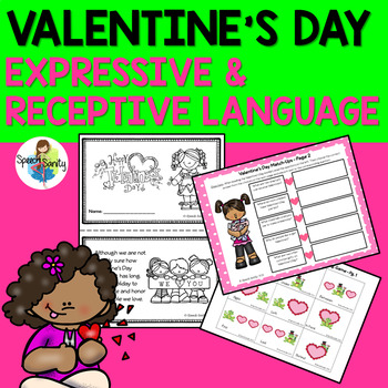 Valentine's Day: Expressive & Receptive Language