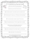 Valentine's Day FREEBIE *Combining Sentences* ELA Common Core Aligned