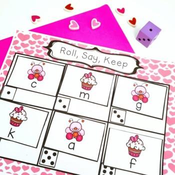 Valentine's Day FREEBIE Roll, Say, Keep