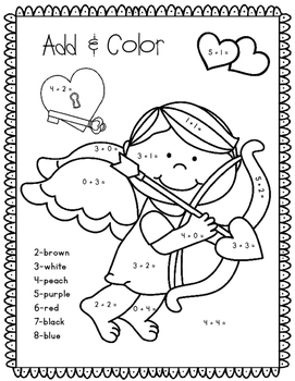 Valentine's Day FREEBIES! (Add & Color)