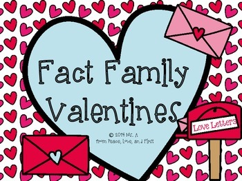 Valentine's Day Fact Families