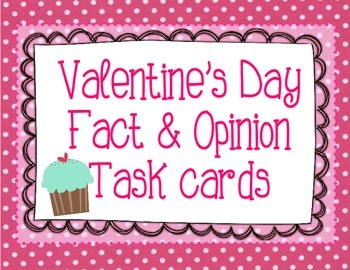Valentine's Day Fact & Opinion