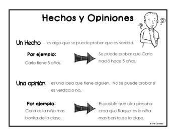 Valentine's Day Fact or Opinion in English and Spanish!