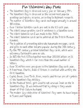 Valentine's Day Facts