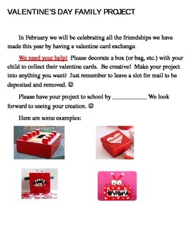 Valentine's Day Family Fun Project
