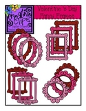 Valentine's Day Fancy Frames {Creative Clips Digital Clipart}