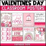 Valentine's Day Farmhouse Posters