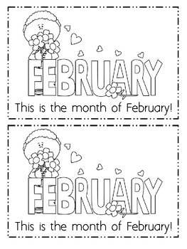 Valentine's Day, February, and Groundhog Day Emergent Readers Bundle