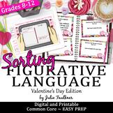 Valentine's Day Activities, Figurative Language Game
