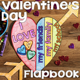 Valentine's Day Craft | Valentine's Day Activity | Valentine's Day Flapbook