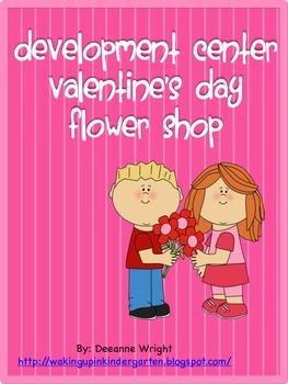 Valentine's Day Flower Shop (developmental center)