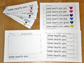 Valentine's Day Fluency Activities