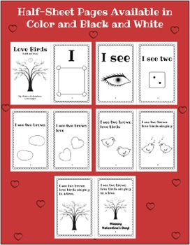 Valentines Day Fluency Book