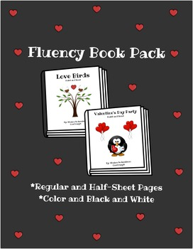 Valentines Day Fluency Book Pack