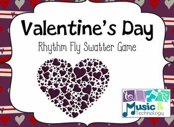 Valentine's Day Rhythm Fly Swatter Game