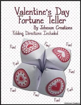 Valentine's Day Fortune Teller