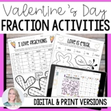 Valentines Day Fraction Activities