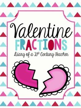 Valentine's Day Fraction Center Bundle