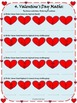 Valentine's Day - Math - Fractions Worksheets - Grade 4, Grade 5, and Grade 6
