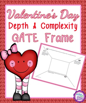 Valentine's Day Depth & Complexity GATE Frame