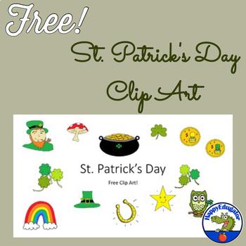 St. Patrick's Day Clip Art - FREE