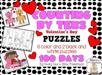 Counting By Tens Puzzles