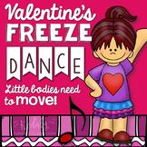 Valentine's Day Freeze Dance (Brain Break and Movement Exploration)
