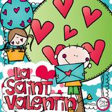 FRENCH Valentine's Day Activities ♥ La Saint Valentin