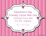 Valentines Day Friendly Letter Mini Unit