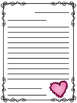 Valentine's Day Friendly Letter Templates! Freebie!