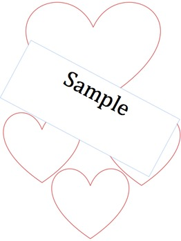 Valentines Day - Friendship heart activity