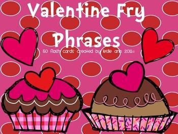 Valentine's Day Fry Phrases