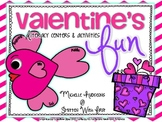 Valentine's Day Fun {4 literacy centers and a book report craftivity}