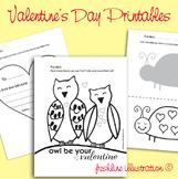Valentine's Day Fun Acitivies, Cut and Paste, Preschool, K