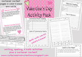 Valentines Day Fun Activity Pack {FREEBIE}