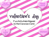 Valentine's Day Fun Actvities-Math and Literacy- Good Deed