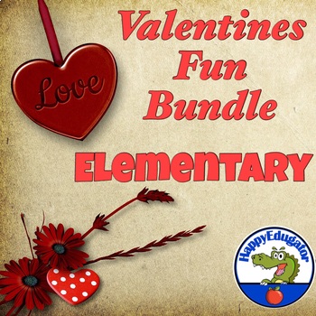 Valentines Day Fun Bundle for Elementary Grades