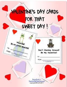 Valentine's Day Fun Cards