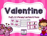 Valentine's Day Fun!  Centers & Supplementary Activities