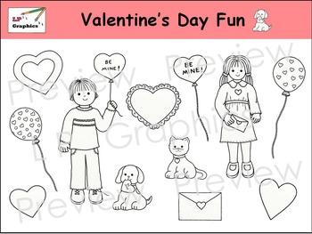Valentine's Day Fun Clip Art