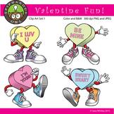 Valentine's Day Fun Clip Art Set 1